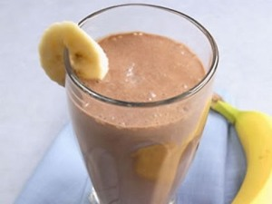 banana-prótínsjeik