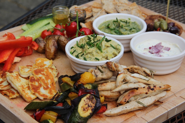 Greek-Mezze-Board